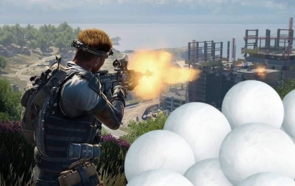 Call of Duty snowballs