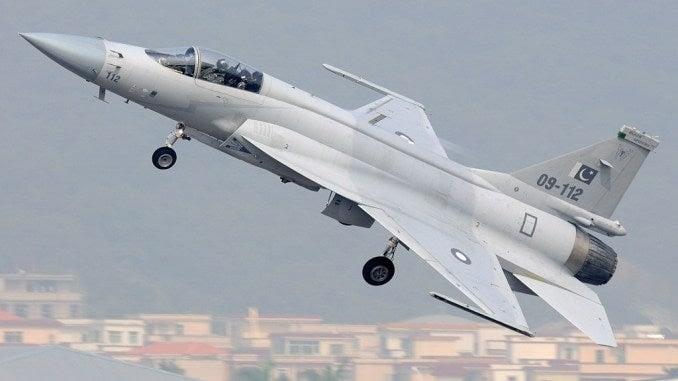 JF-17B Thunder aircraft